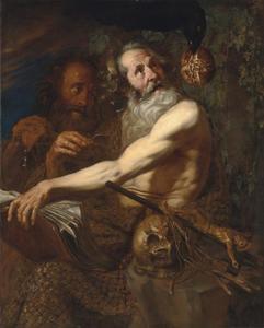 Heiligen Paulus de heremiet en Antonius Abt