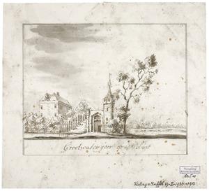Het huis Groot Watergoor bij Nijkerk