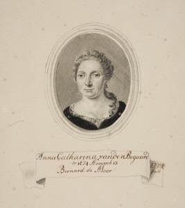 Portret van Anna Catharina van den Bogaard (1656-1725)