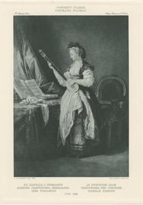 Portret van prinses Izabela Czartoryska (1746-1835)