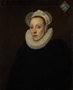 Portret van Alijd Boelens (1557-1630)