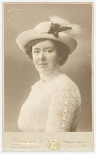 Portret van Jeanette Elgonde Modderman (1872-1938)