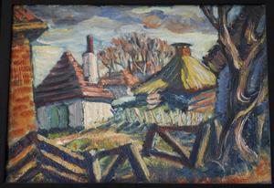 Boerderij in Laren met hek