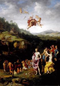 Mercurius verliefd op Herse