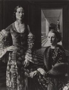 Dubbelportret van Wilma Henriëtte Johanna Jeuken (1905-1960) en Estelle Reed (1904-1996)