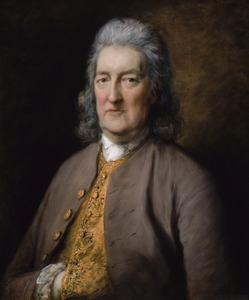 Portret van chirurg generaal David Middleton