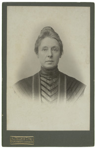 Portret van Geertruida Jaski (1858-1937)