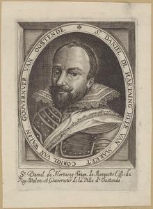 Portret van Daniel de Hertaing (...-1625)