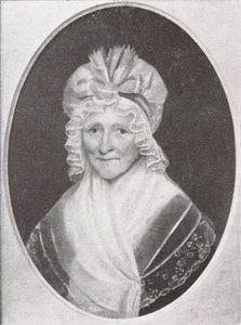 Portret van Sara van Lelyveld (1734-1823)