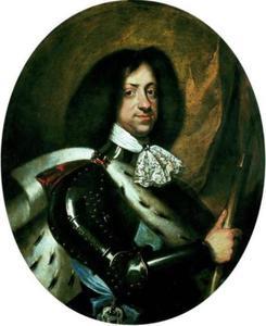 Portret van Koning Christiaan V (1646-1699) van Denemarken