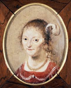 Portret van Machteld (Cornelia) Hooft