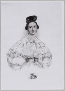 Portret van Anna Henriette Gezina Roessingh (1815-1843)