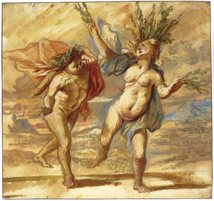 Apollo en Daphne (Metamorfosen 1:452 e.v.)