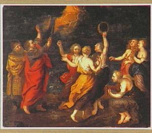 Mozes lied aan de Schelfzee; Mirjam danst  met alle vrouwen (Exodus 15:1-21)