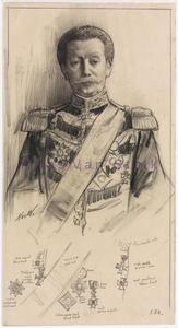 Portret van Hendrik Willem Jacob Eliza Taets van Amerongen (1840-1920)