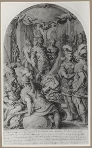 Allegorie op de Vrede van Cateau-Cambrésis in 1559