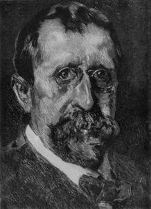 Zelfportret van Willem de Zwart (1862-1931)
