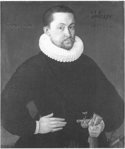 Portret van Johann Philipp Völker
