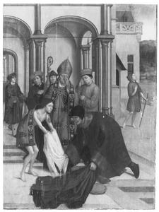 De H. Franciscus van Assisi doet afstand van zijn wereldse kleren