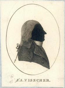 Portret van Gerardus Anthony Visscher (1762-1827)