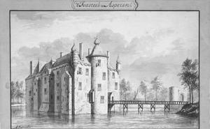 Voor- en linkerzijde van Asperen bij Leerdam