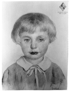 Portret van Helena Maria Albarda (1931- )