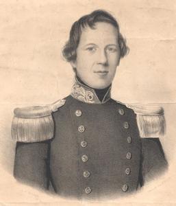 Portret van Abraham Edmond Hartevelt (1820-1856)