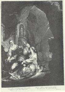 Lot en zijn dochters (Genesis 19:30-38)