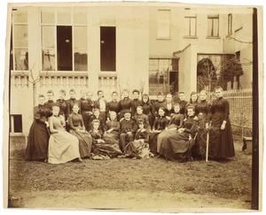 Groepsportret, Bonn 1890