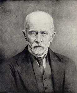 Portret van graaf Leon Piniński (1857-1938)