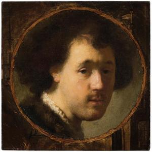 Portret van Rembrandt