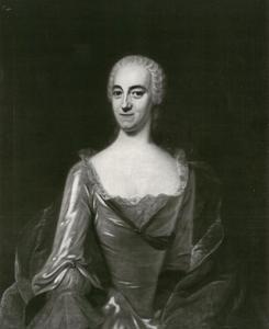 Portret van de vrouw van burgemeester Widow