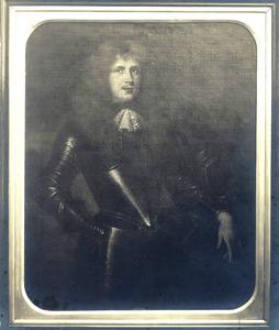 Portret van een man, mogelijk Steven van der Does (1644-1694)
