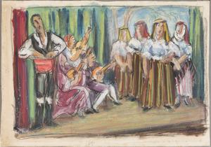 Spaanse zang - en dansgroep