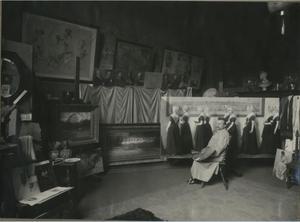 Atelier van Nicolaas van der Waay (1855 - 1936)
