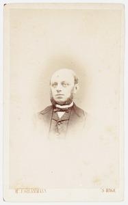 Portret van Sybrand Jan Hingst (1834-1890)