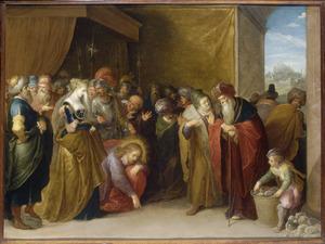 Christus en de overspelige vrouw (Johannes 7:53-8:11)