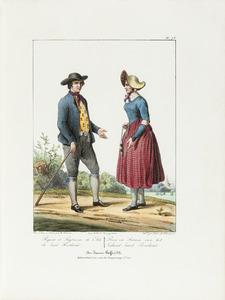 Boer en boerin uit Zuid Beveland