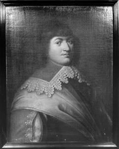 Portret van Jacob Bruyninck, kapitein in het Noord-Hollands regiment