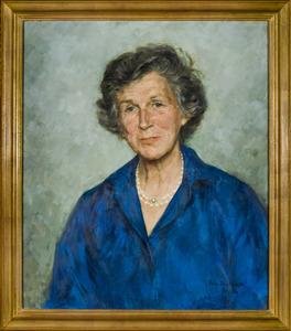 Portret van Isabelle Adrienne van Aldenburg Bentinck (1925-2013)