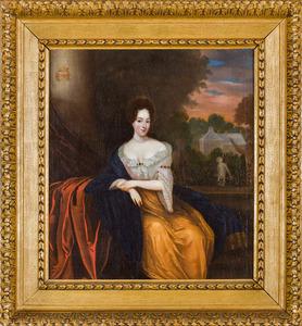 Portret van Anna Cornelia Isabella van Coeverden  (1688-1730)