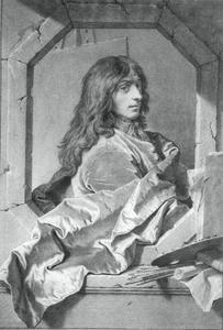 Portret van de schilder Sébastien Bourdon (1616–1671)