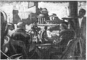 Café-scene