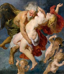 Boreas ontvoert Oreithya (Ovidius, Metamorfosen VI)