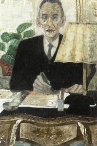 Portret van Adriaan Anne Marie van der Meulen (1901-1993)