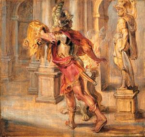 Jason en het gulden vlies (Ovidius, Metamorfosen, VII, 149-158)