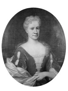 Portret van Maria van Kervel (1679-1750)