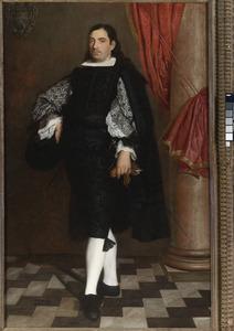 Portret van een heer, waarschijnlijk lid van de Ostigliani familie