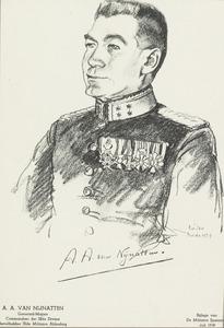 Portret van Adrianus Antonius van Nijnatten (1880-1948)