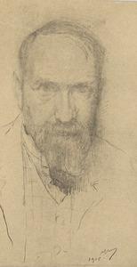 Portret van Marius Alexander Jacques Bauer (1867-1932)